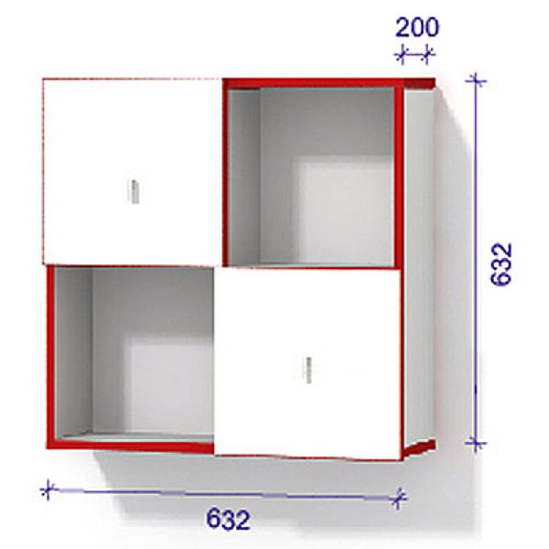 Модульная система 1 з дверцятами - Модуль 1